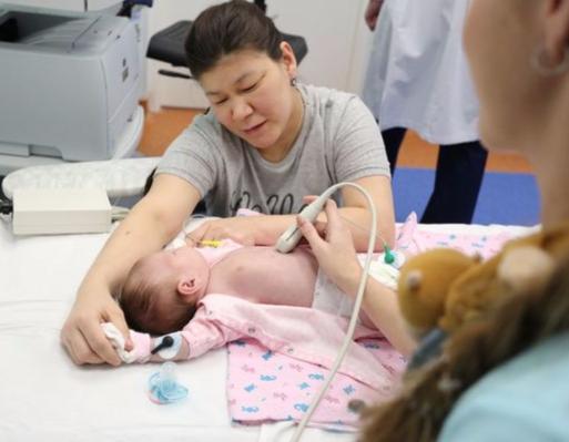 В Детской городской больнице №1 открылось первое в России отделение экстренной медицинской помощи
